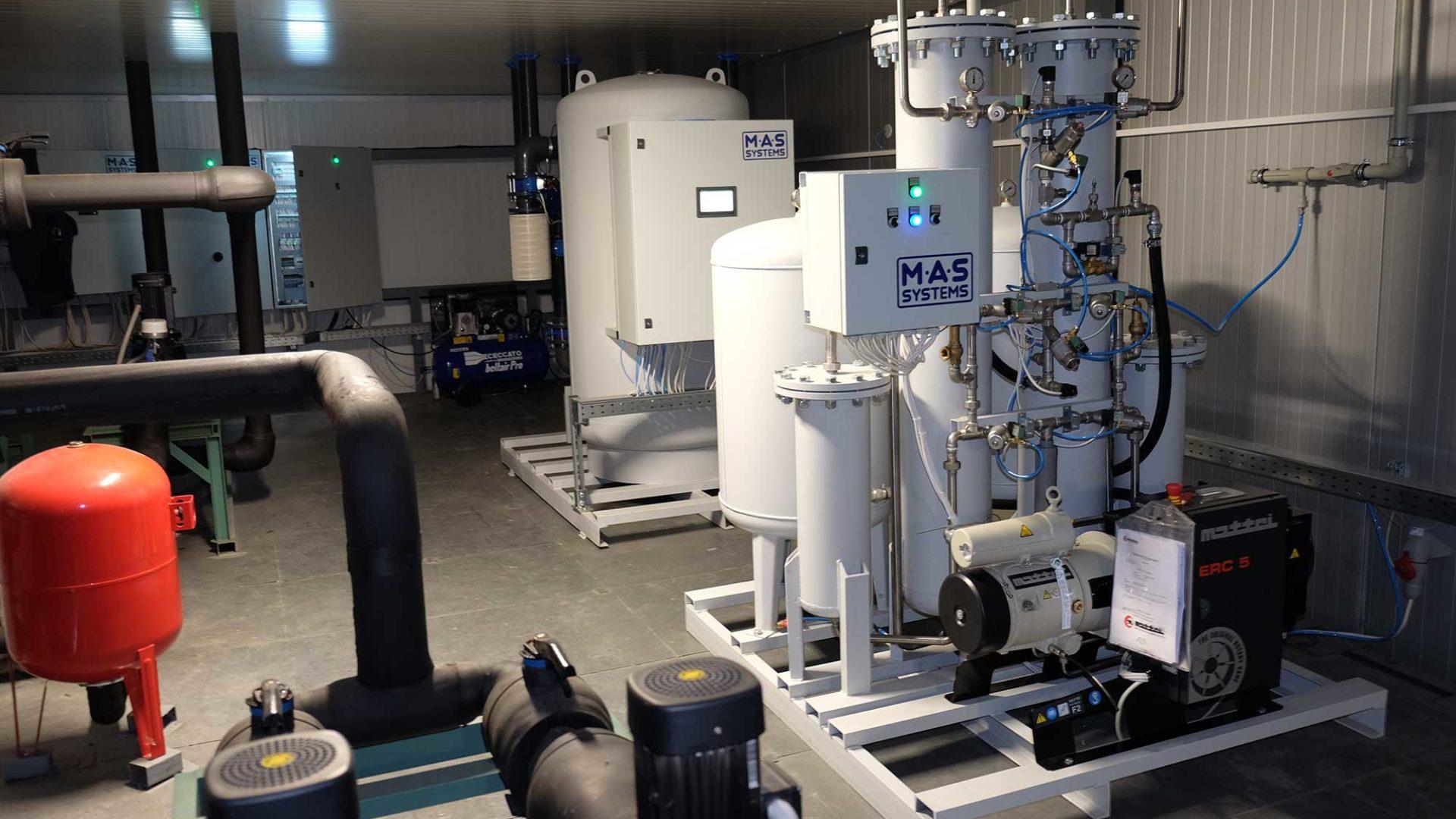 Производство генераторов азота и кислорода