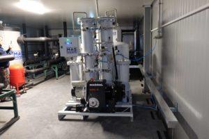 Промышленный генератор азота MAS-GN2