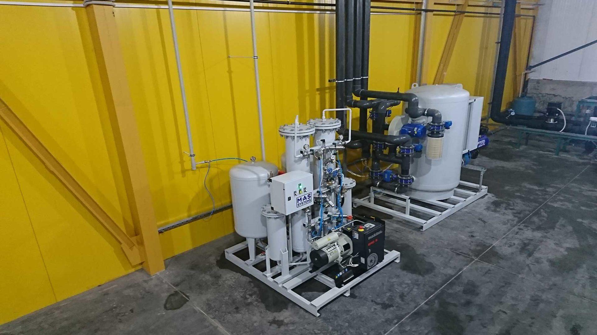 Проектирование генераторов азота и кислорода