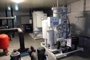 Применение генераторов азота