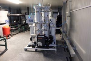 Азотная станция для получение азота | MAS SYSTEMS
