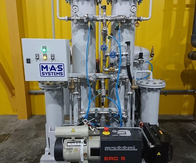 Адсорбционные азотные установки от МАС Системз