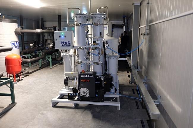 Запуск производства генераторов азота и скрубберов СО2