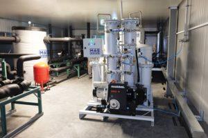 Генератор азота производства MAS Systems