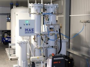 Генератор азота производим с чистотой 99,9%   МАС Системз