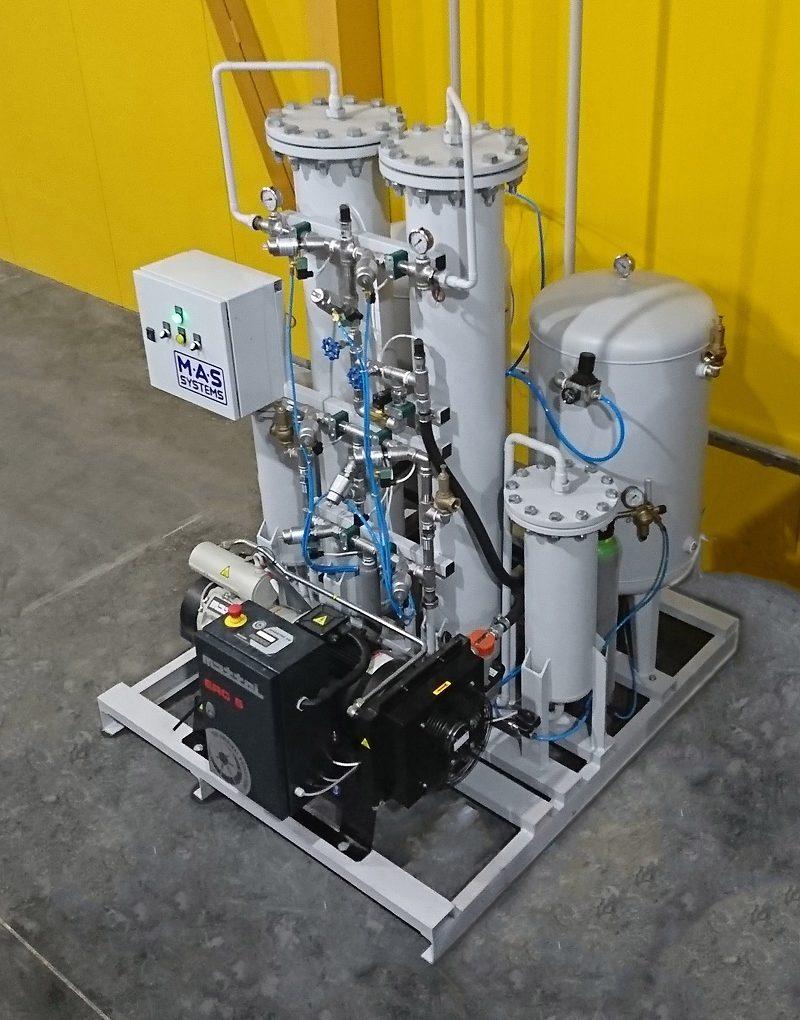 Оборудование для производства азота: адсорбционная установка PSA