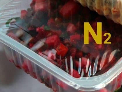 Использование газообразного азота в пищевой упаковке