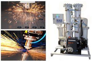 Азотная установка для лазерной резки | MAS-GN2