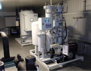 Генератор кислорода промышленный
