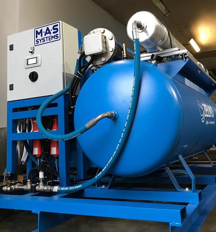 Готовим к отгрузке мобильную станцию генерации азота мембранного типа «MAS Systems»