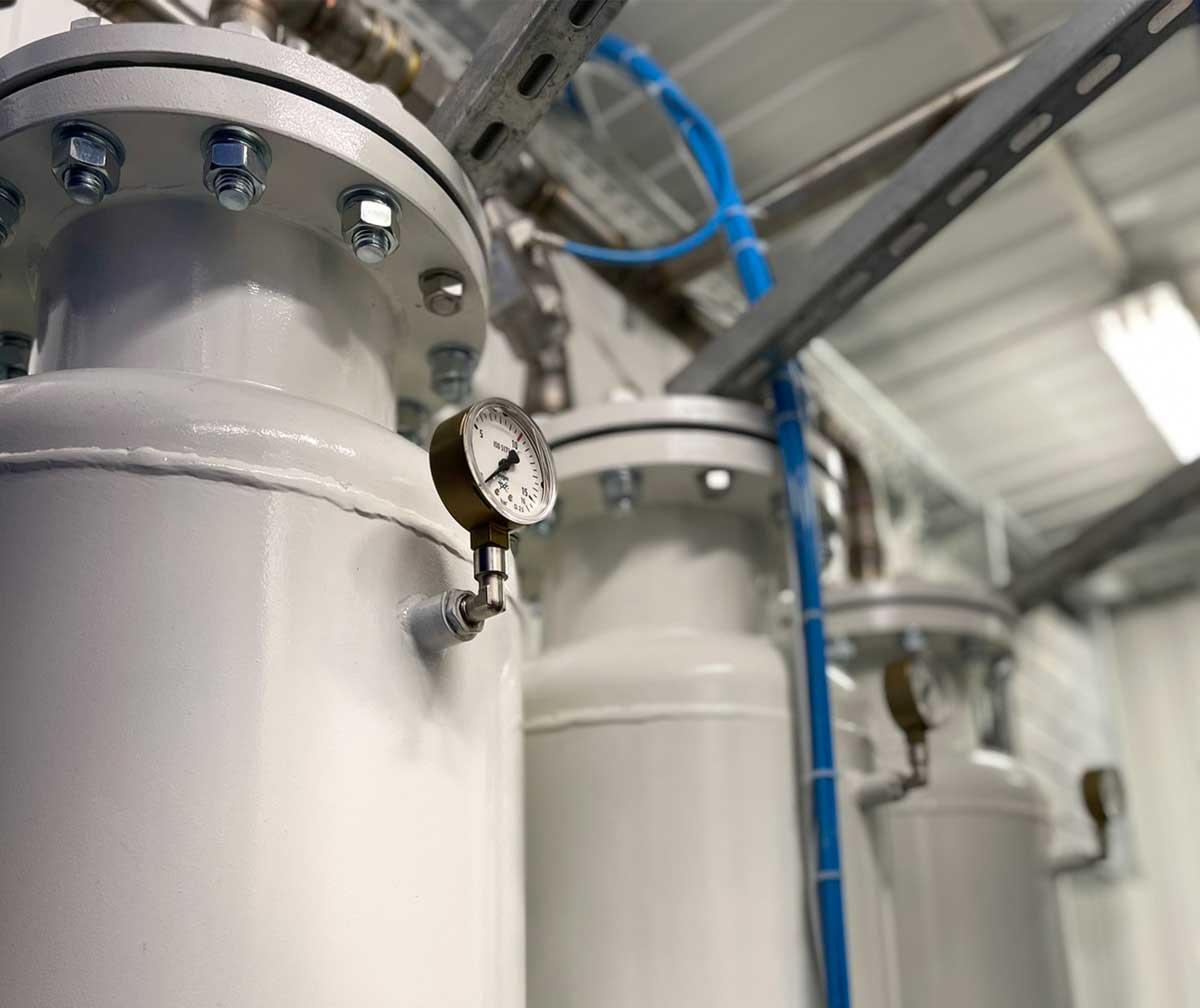 Генераторы кислорода и кислородные станции MAS-OXY от компании MAS Systems