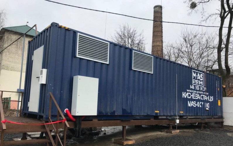 Кислородная станция в контейнерном исполнении производительностью 100 нм3/ч