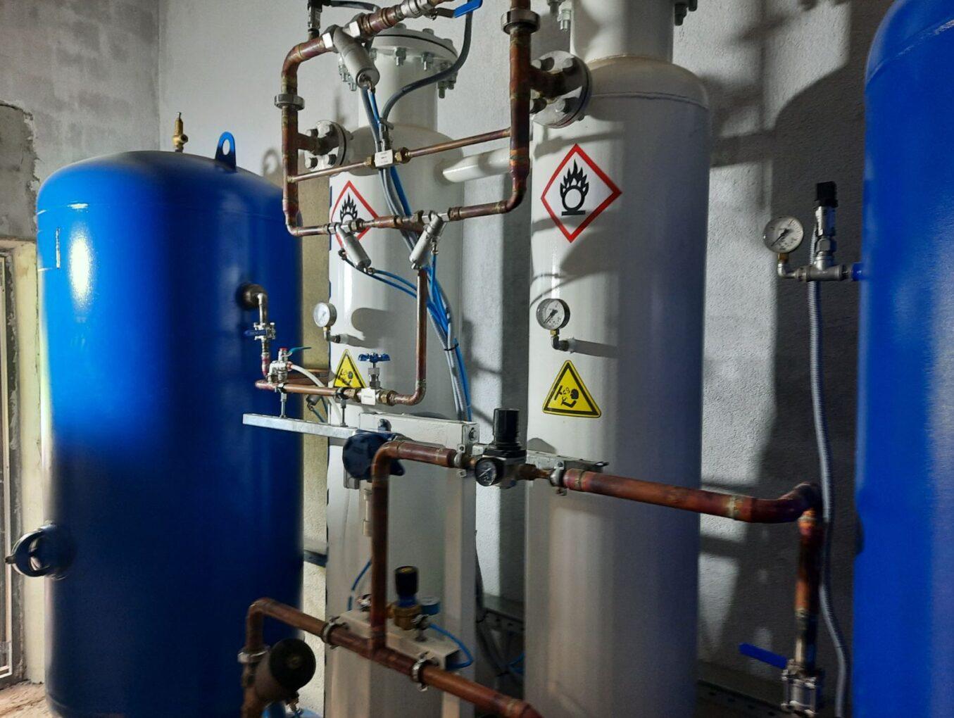 Кислородная станция производительностью 15 нм3/ч