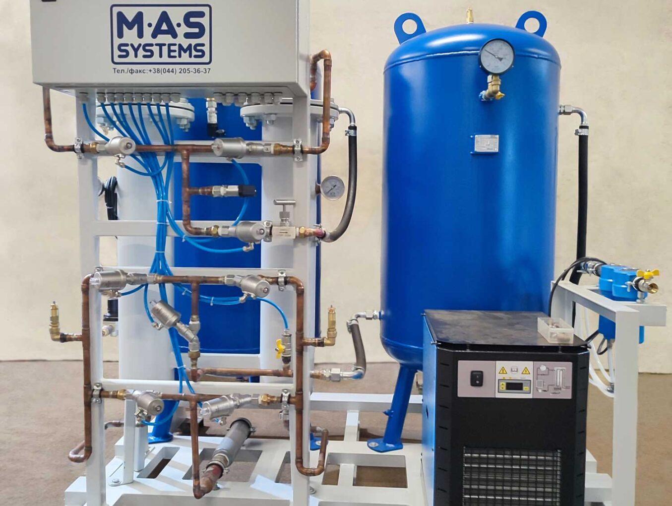 Готовим к отгрузке генератор азота MAS GN2-2 «MAS Systems»